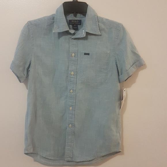 72f715e4b Ralph Lauren Button Down + Shorts Set